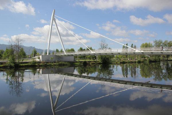 Standplatz Chaves, moderne Brücke