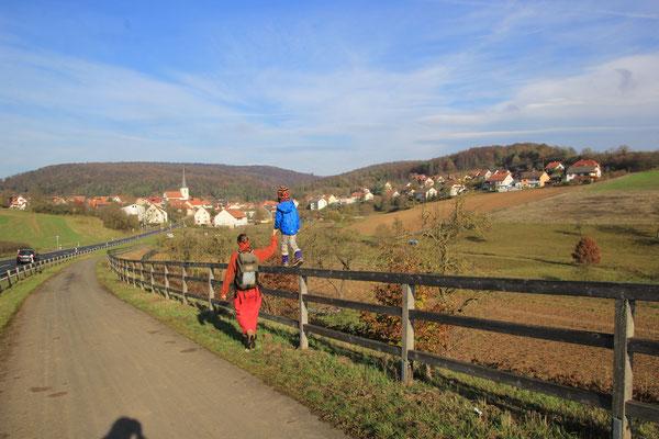 Novemberspaziergang Eußenhausen