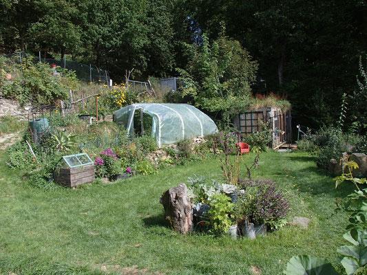 Garten auf dem Eselhof