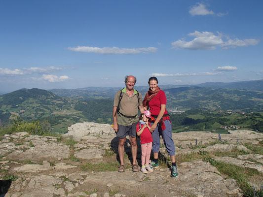 Familienbild Pietra di Bismantova