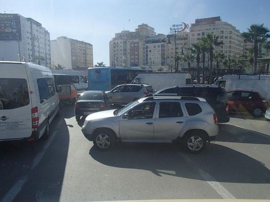 Ortsdurchfahrt Tanger