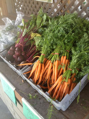 SIlver Rill Carrots and Beets