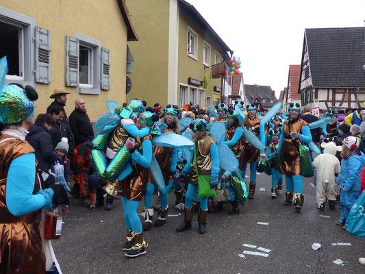 TSV Malsch Dream Team: Es schillern so toll in grün und blau die Libellen vom TSV