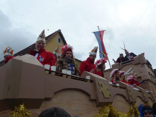 KaGe Blau-Rot: KaGe Prinzenwagen Narrenburg