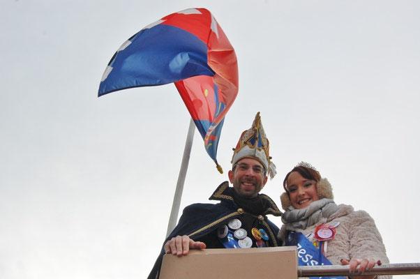 Prinzenpaar Carina I. und Gabriel I.