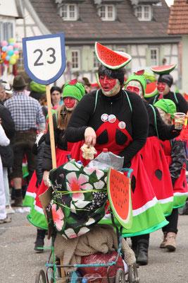 TSV Malsch Dream Team: TSV Dream Team - Eine von 80 Melonen