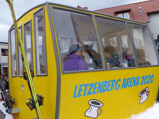 Scheißhäffe: Skicircus am Letzenberg