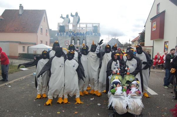Klabuschdabärlin - Pinguine vom Rückhaldebeggä