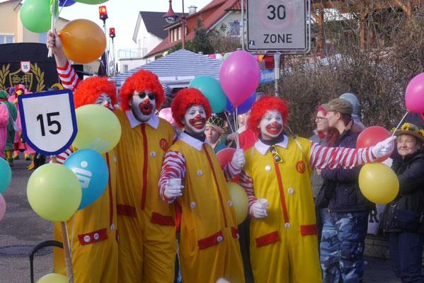 Clowns: Malsch - wir lieben es!