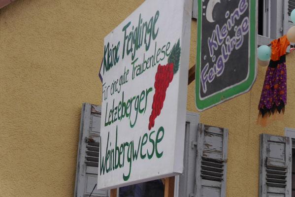 Die kleinen Feiglinge: Für eine gute Traubenlese - Letzenberger Weinbergwese