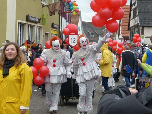 Clowns: ES - kommt nach Malsch