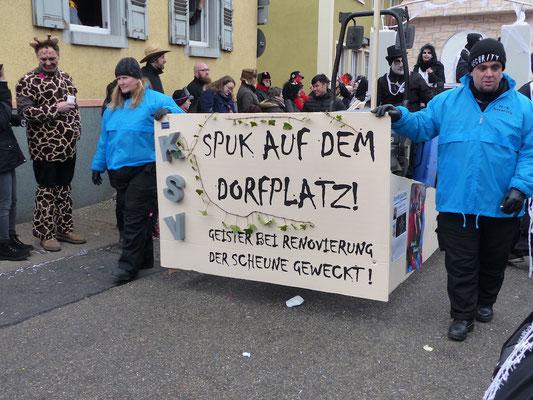 KSV Malsch: Dorfplatzgeister