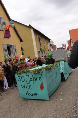 Willi Poser: Elfe vom Brettwald