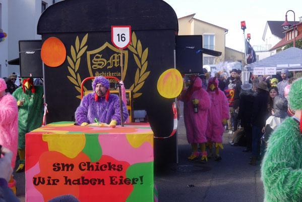 Schickeria: SM-Chicks - wir haben Eier