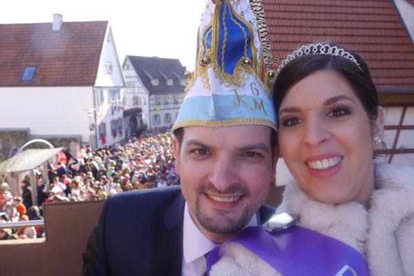 Prinzenpaar Michaela I. & Christian II.