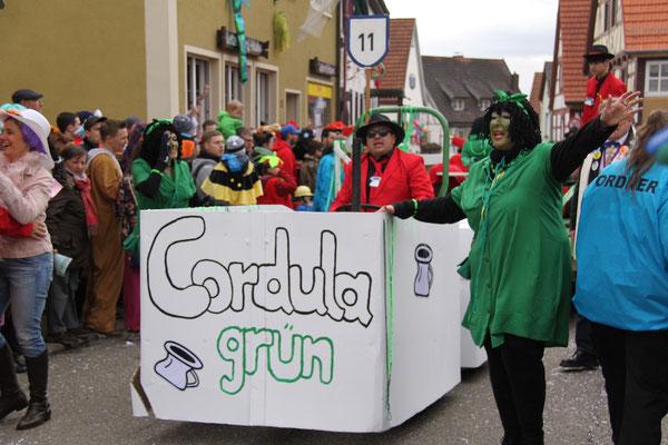 Scheißhäffe / Elwätritsche: Cordula Grün