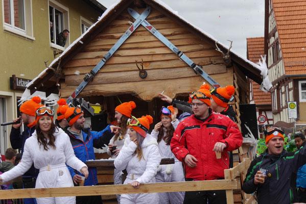 Haubentaucher: Aprés-Ski Party - Klimawandel ade, mia in Malsch hewwe doch Schnee