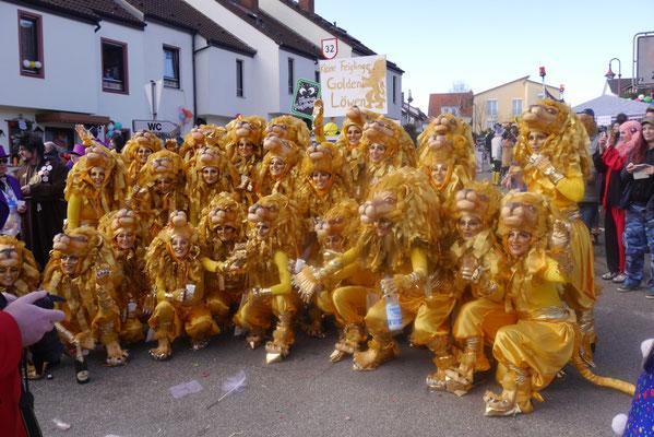 Die kleinen Feiglinge: Goldene Löwen