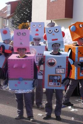 Klabuschdabärlin: Roboter