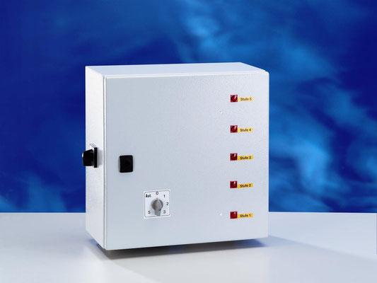 Gruppe 3: Trafo-Drehzahlregler für Thermostatanschluss TSDA