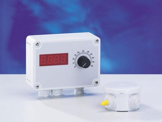 Gruppe 3: Elektronik-Thermostat 1~ 230 V, 0-10 V Ausgang