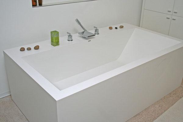 baignoire sur mesure blanc S 28