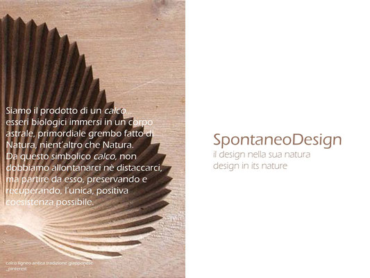Il design nella sua natura | Design in its nature.