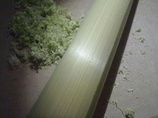 2011 -  Colori e finiture - Dettaglio: lavorazione, il bambù ha fibra setosa e lucente, photo credit_spontaneodesign