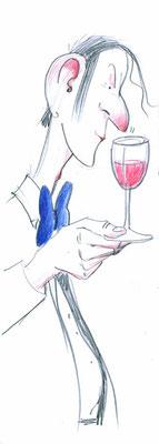 Skizze zur Weingeschenkbox