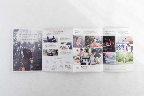 中面2/写真をふんだんにレイアウトし、作品集のような仕上がりに