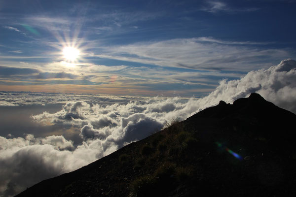 Stimmung auf dem Mount Agung