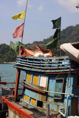 Fischerboot, Koh Kood