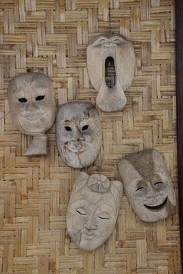 Auch Holzmasken haben Gefühle'