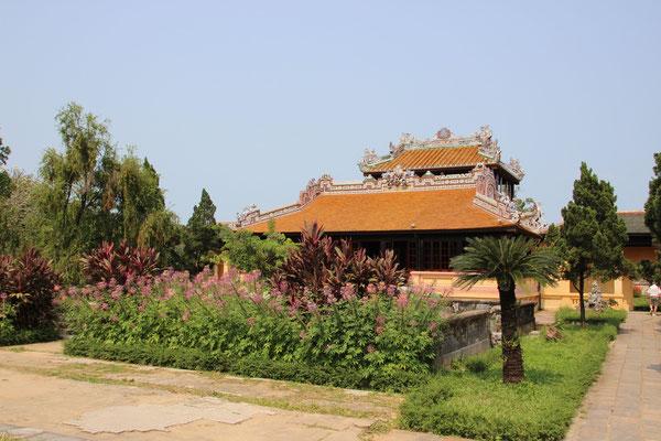 Zitadelle (Kaiserpalast) in Hué