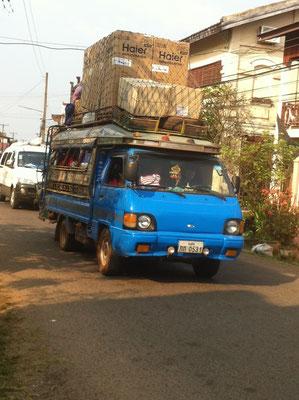 Gutes Ladevermögen in Kampong Cham, Kambodscha