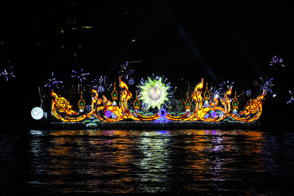 Lichterschiff, Bangkok