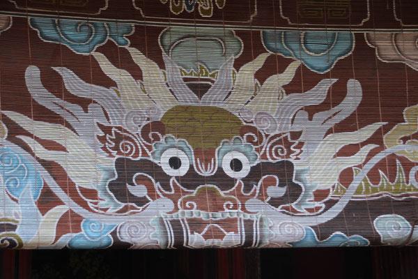 Schöner Drache, Zitadelle in Hué
