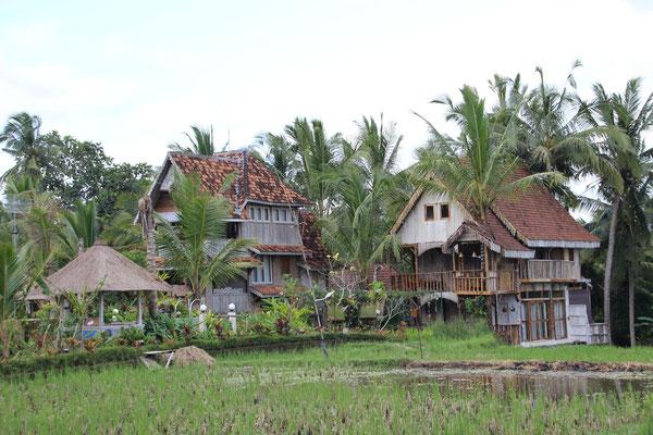 Dieses Haus wurde von Java nach Ubud versetzt