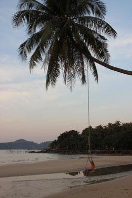 Schaukeln am Strand, Koh Kood