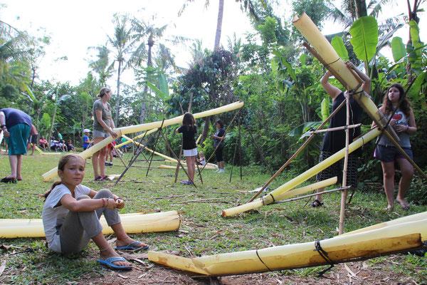 Beim Bau von Eierrutschbahnen, Green Camp