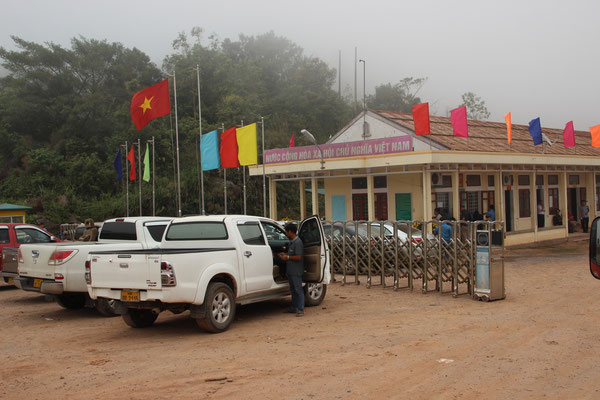 Grenzübergang in Vietnam
