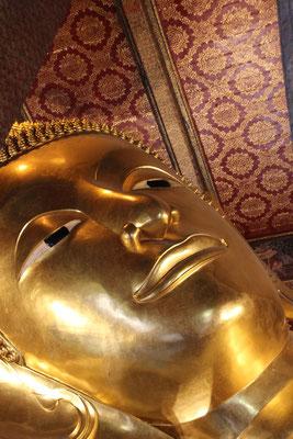 liegende Buddhastatue, Bangkok