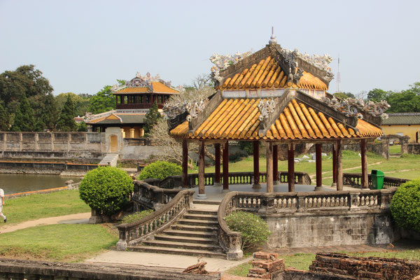 Im Kaiserpalast von Hué