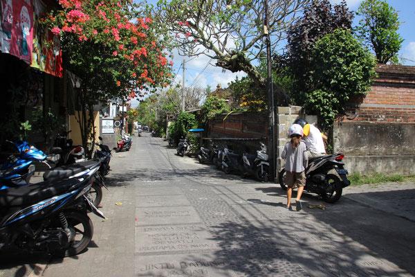 Gasse in Ubud