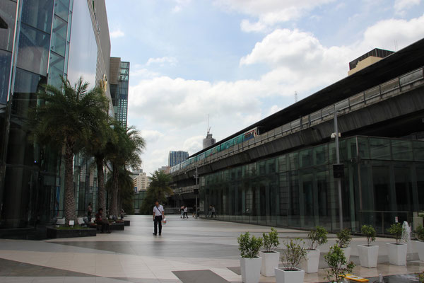 Beim Siam-Center in Bangkok