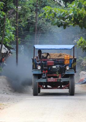 Viel Rauch auf Ogre Island, Myanmar