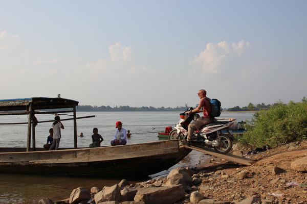 Überfahrt nach Koh Phdau, Kambodscha