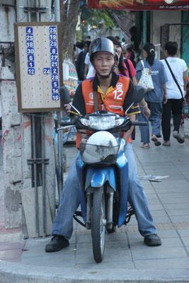 Motorradtaxi, Bangkok