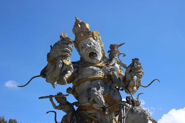 Geisterwelt in Bali