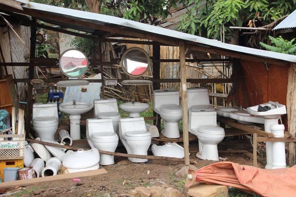 Sanitär-Fachgeschäft in Tad Lo